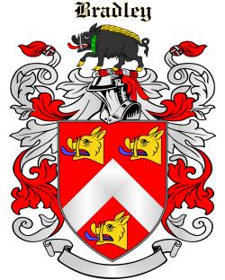 BRADLEY family crest