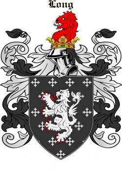 LONG family crest