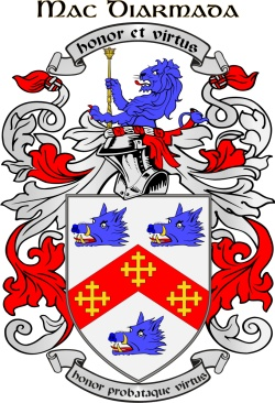 MACDERMOTT family crest