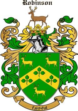 ROBINSON family crest