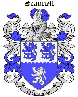 SCANNELL family crest
