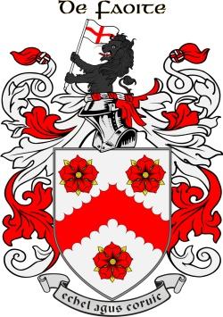 WHITE family crest